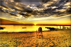 Have a Seat and Enjoy the Sunset | by Linda O'Dell