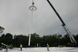 GO Pavilion Progress | by Eckerd College