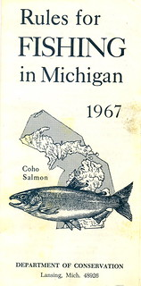 1967 michigan fishing license guide 1967 michigan for Michigan fishing license online