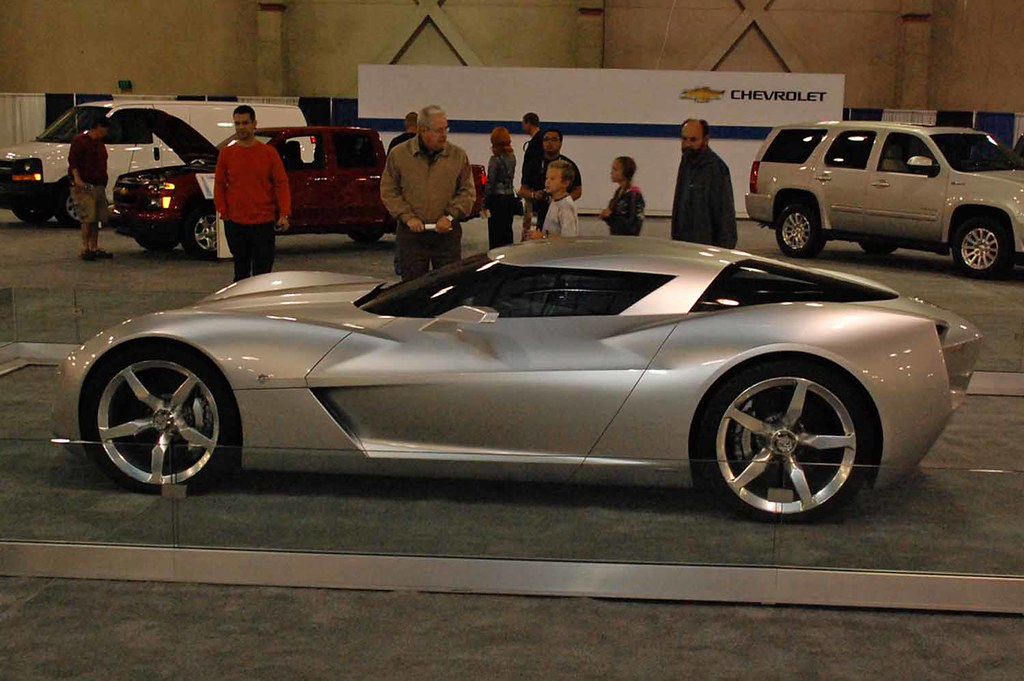 2009 Corvette Stingray Concept Car Sideswipe Stingray Conc Flickr