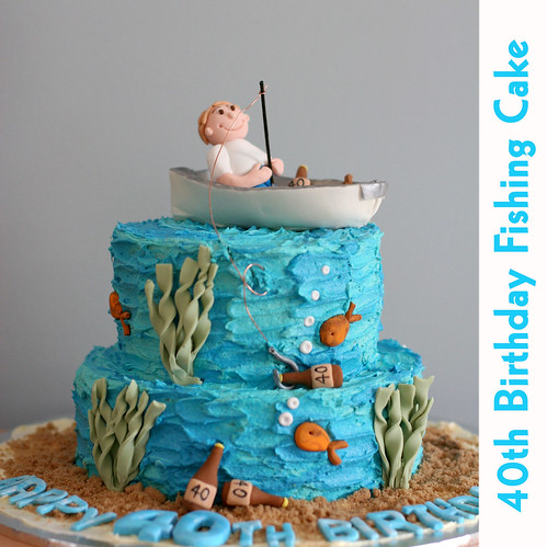 Fishing Boat Cake My Customer Requested A Cake For Her