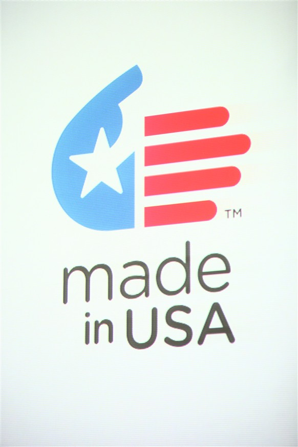 Marcie Gabor Gives A Unified Symbol To Made In The Usa Flickr