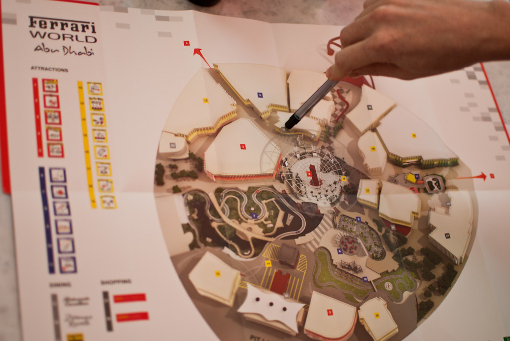 Ferrari World Map.Ferrari World Map Ferrari World Abu Dhabi Www Yasisland Ae Flickr
