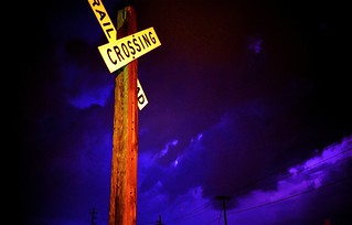 Lightning at Church Street Railroad Crossing | by lee.mccain.photorama