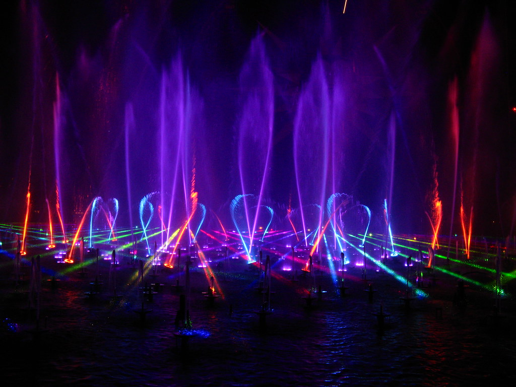 Disneyland Star Wars segments from World of Color Celebrate