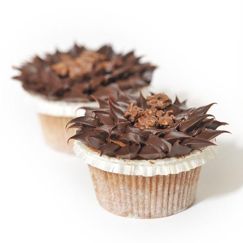 Chocolate Dipped Corn Cakes