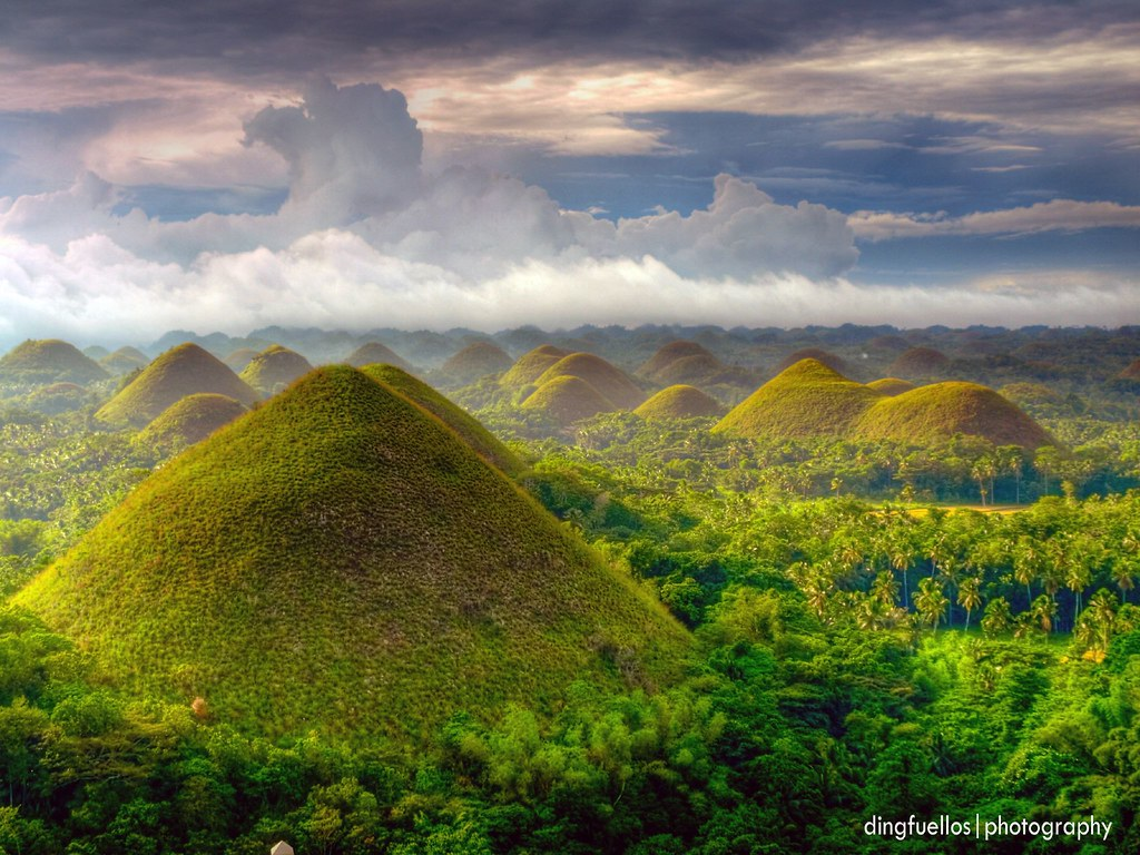 Chocolate hills redux | Chocolate Hills of Bohol Carmen, Boh… | Flickr