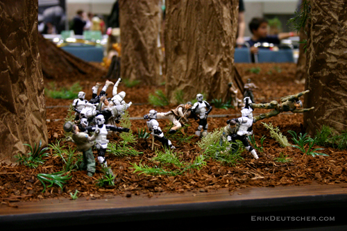 Endor Diorama Star Wars Fans Check Out Some Of My Fun Mov Flickr