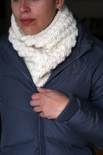 Snow Cowl | by tentenknits