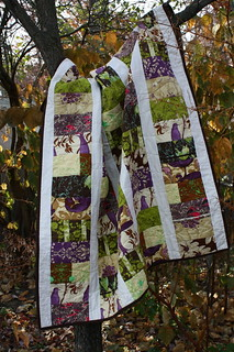 Treetop Fancy Quilt | by sew wonky
