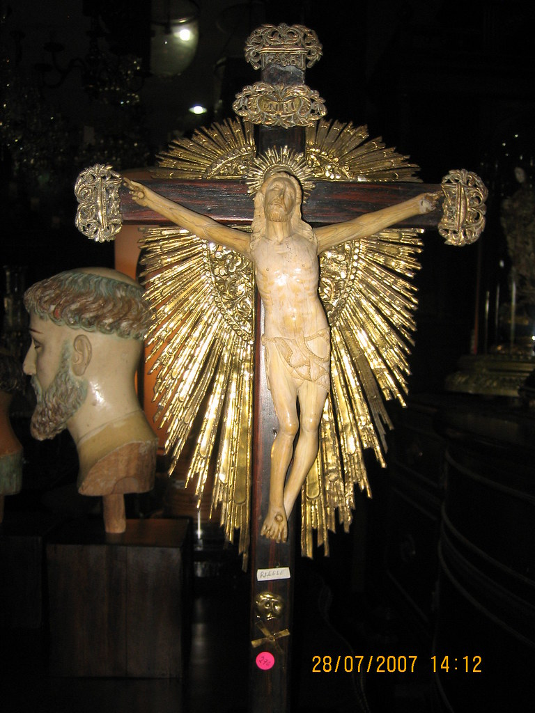 Tabletop Crucifix | By Leo Cloma Tabletop Crucifix | By Leo Cloma