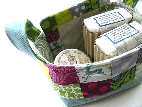 { fabric basket } | by { philistine made }