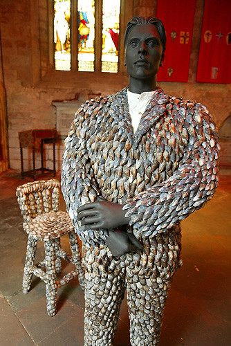Tain Mussel Shell Art Project | 6 July 2007: An exhibition b… | Flickr