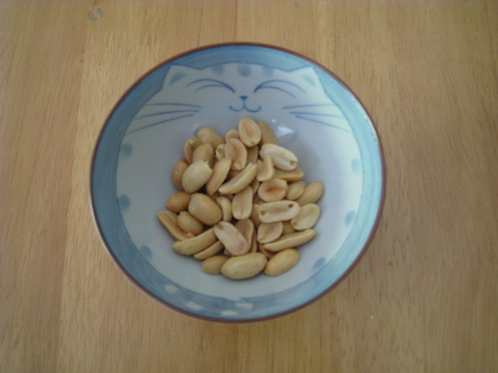 One Ounce Roasted Salted Peanuts