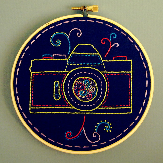 Camera Embroidery