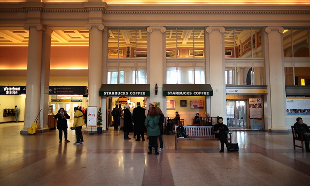 Starbucks at Waterfront Station