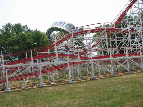 Tornado Rollercoaster Stricker 39 S Grove Amusement Park