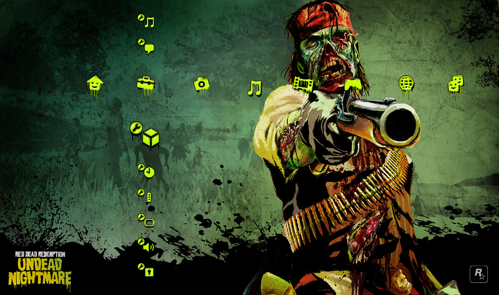 red dead redemption undead nightmare ps3 theme available t flickr