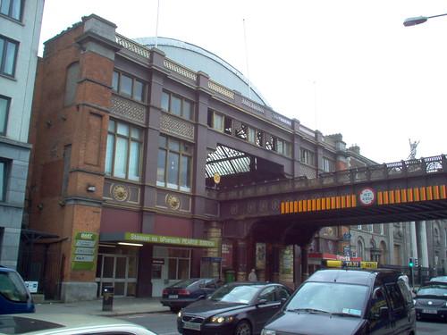 Pearse Train Station Near Trinity College Dublin The