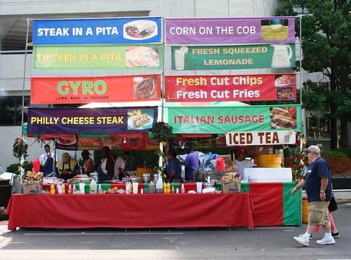 Latino Food Festival  Embarcadero