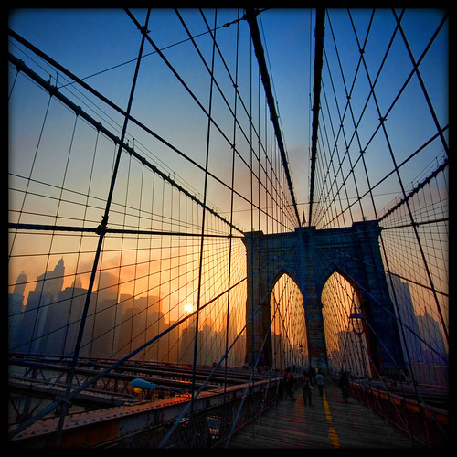 Brooklyn Bridge Sunset  [159/365] | by Lab2112