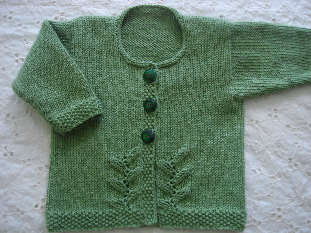 Provence Baby Cardigan | Pattern: Provence Baby Cardigan fro… | Flickr
