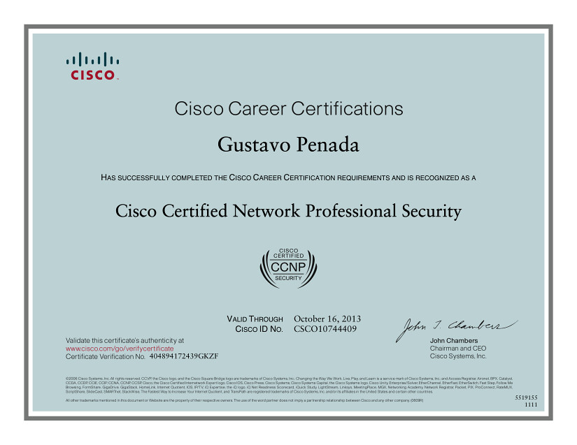 cisco certified network professional security certificate | flickr