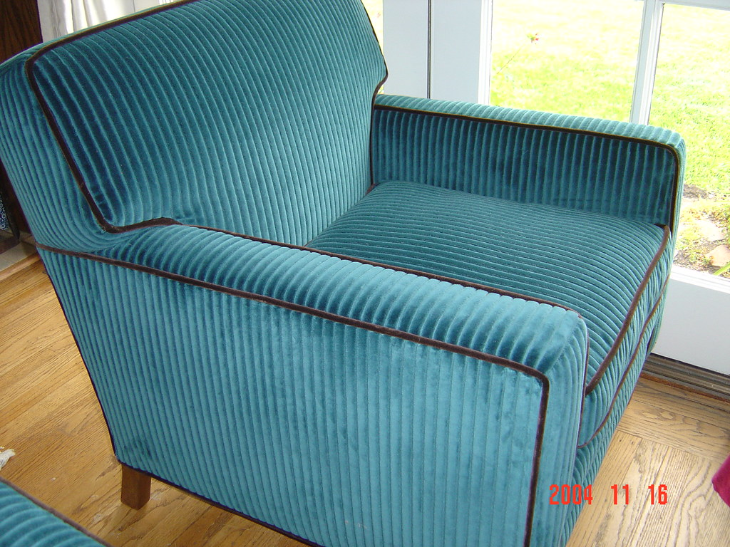 ... Corduroy Club Chair | By Michaelu0027s Upholstery