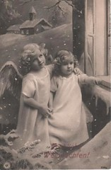 Vintage Postcard ~ Christmas Angels | by chicks57