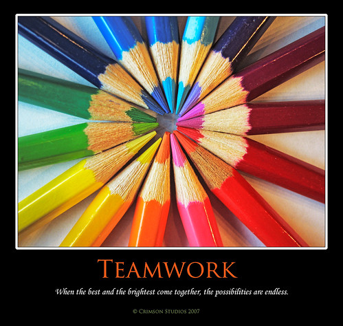Teamwork | by Ms Ladyred