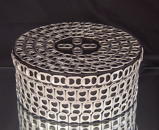 Pop Tab Hatbox/Stashbox | by Cheryl's Art Box