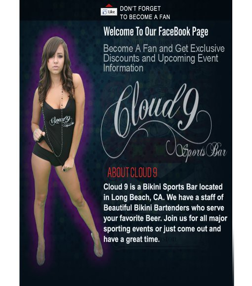 Cloud 9 bikini bar