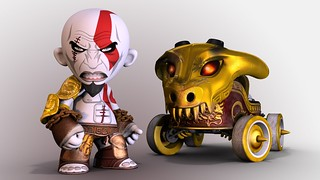 ModNation Racers: Kratos Kart | by PlayStation.Blog