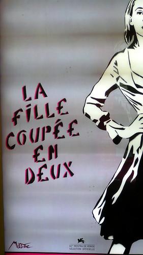 17 ao t 2007 paris m tro porte de charenton affiche la fil - Porte de charenton metro ...