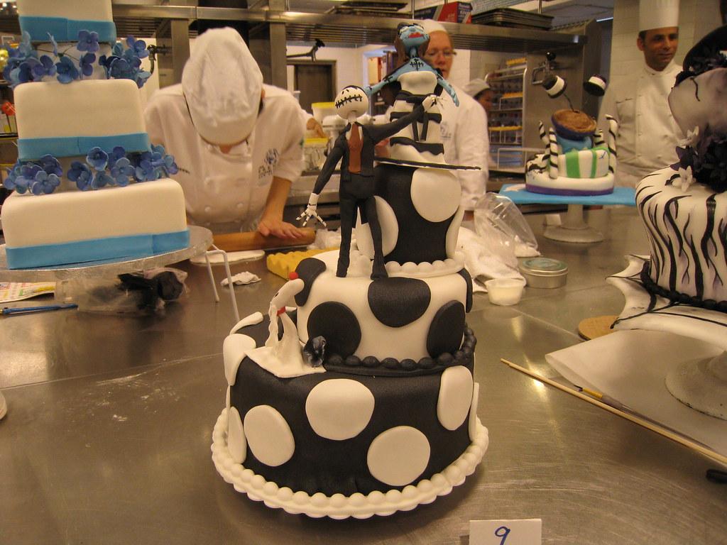 Wedding Cake - Halloween Theme/ Nightmare Before Christmas… | Flickr