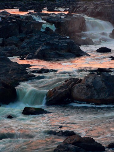 Sunset on Great Falls | by Vicki's Pics