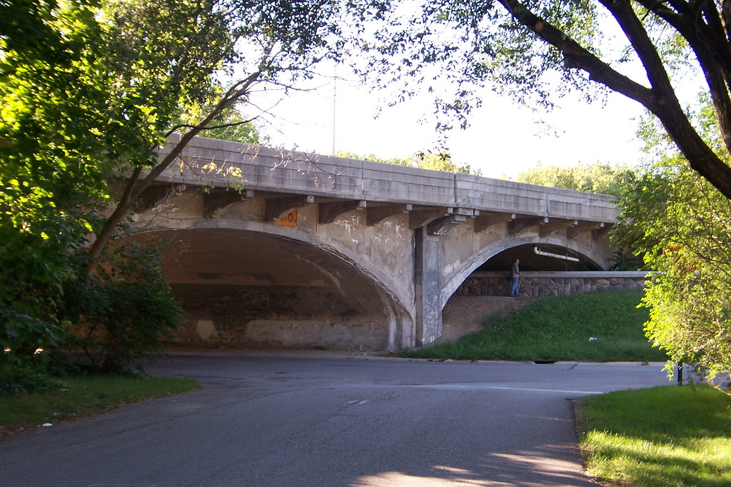 Meridian St. bridge over White River