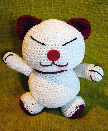 Maneki Neko Amigurumi Patron : amigurumi maneki neko perlinavichinga Flickr