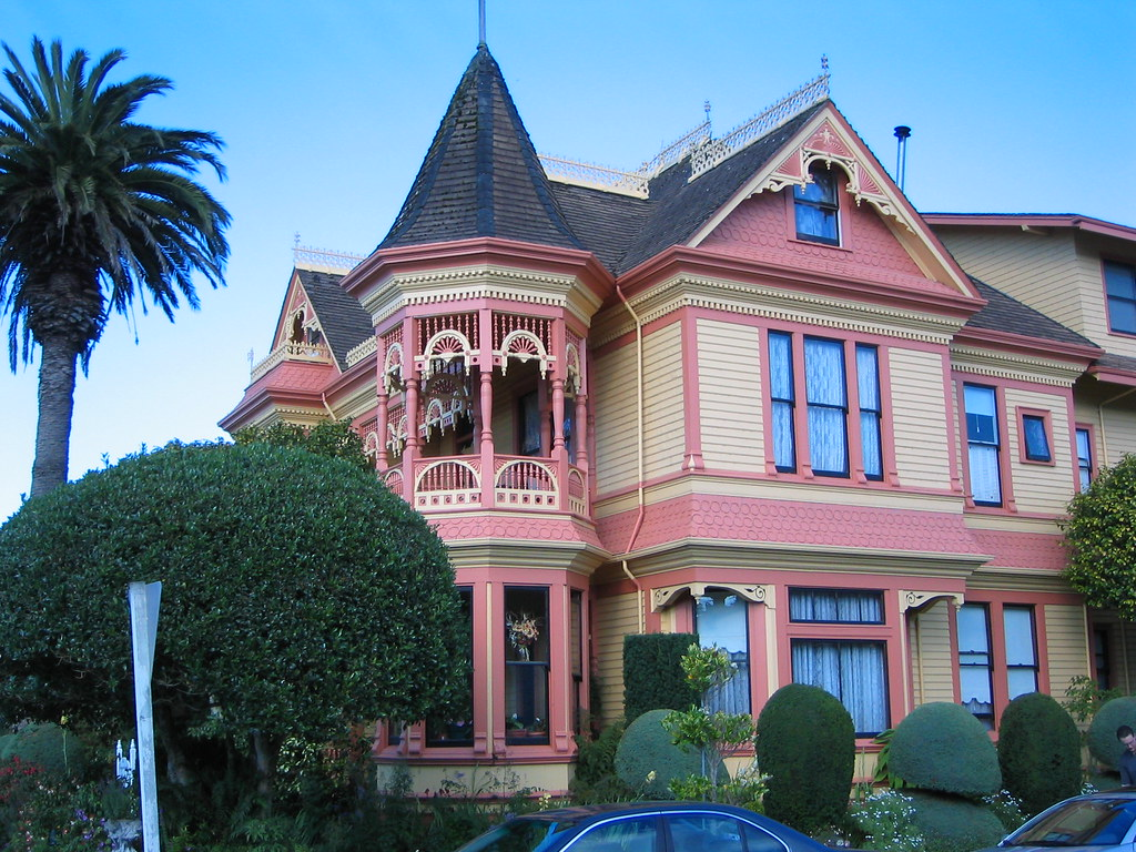 Fabulous Victorian House In Small Oregon Town Chouxie Flickr Largest Home Design Picture Inspirations Pitcheantrous