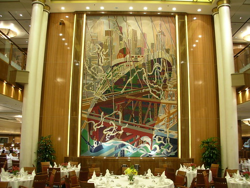 Cunard QM2. Brittania Restaurant | by Tom Mascardo