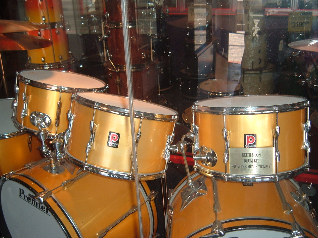 Keith Moon S Drum Kit From Tommy Andrea Higgins Flickr
