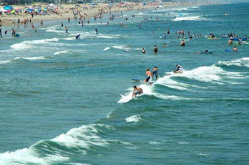 A 775 foot beach for surfing is located north of the fishi for Island beach state park fishing report