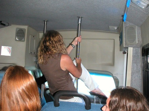 Shelly 39 S Party Bus Pole Dance Suzy Thompson Flickr