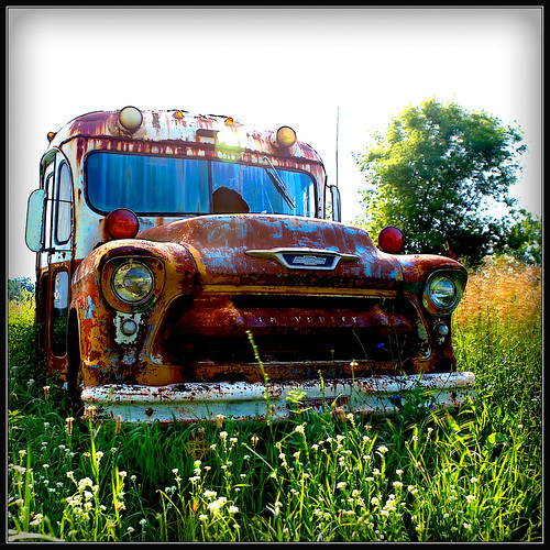 Abandoned Bus-HDR | by paulh192