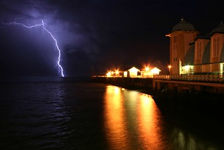Lightning on the Pier | by Time Grabber