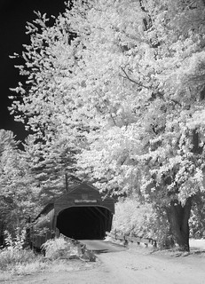 Hemlock Covered Bridge [Infrared] | by jcbwalsh