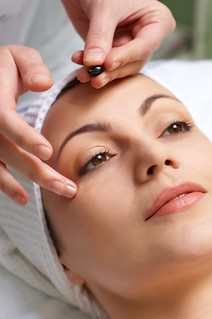 skin treatment applying | by MyTudut