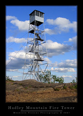 Restored Fire Tower Of Hadley Mountain | by Mountain Visions