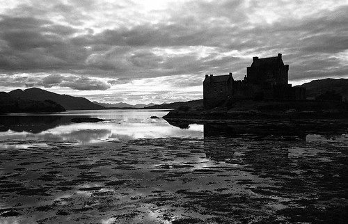 Eilean Donan in Black and White | by iainmac2