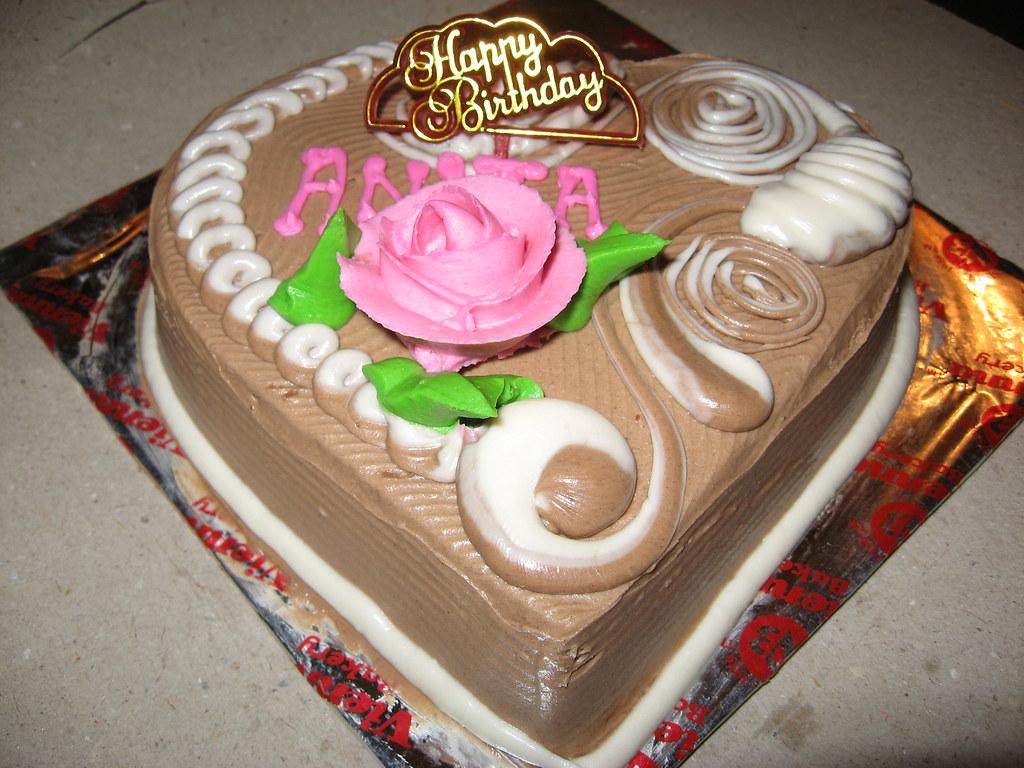 Anitas Birthday CAKE Girish Katke Flickr